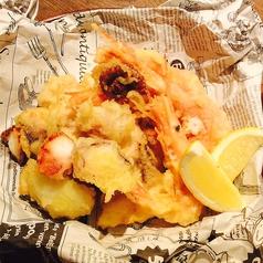 料理メニュー写真魚介のフリット(甘エビ、白身魚、タコ) Sサイズ/Mサイズ