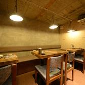 地下1階、10名様までOKの半個室。合コンや女子会に是非、オススメです♪