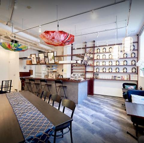 ゆったりした空間で中国茶・点心・薬膳スイーツが楽しめる美容と健康スポット♪
