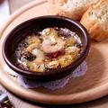 料理メニュー写真海老とキノコのアヒージョ