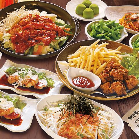 【選べる陶板焼きコース】宴コース2時間飲み放題付き7品3000円