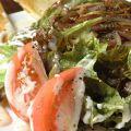 料理メニュー写真ホットシーザーサラダ