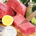 お肉にはこだわりあり!ブランド牛や鶏、鴨などおすすめのお肉を薪焼でどうぞ☆