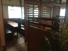 お友達同士や同僚と・・。気軽に一杯できる広めの1階のテーブル席。※画像は系列店舗 席タイプについては店舗まで!