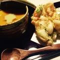 料理メニュー写真【1日限定5食】海老と貝柱かきあげwith冷製ちゃわんむし