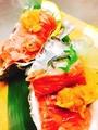 料理メニュー写真牡蠣の黒毛和牛巻き