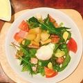 料理メニュー写真フランス発祥ペイザンヌサラダ