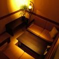 個室ソファー席もご用意しております。