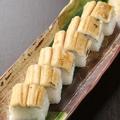 料理メニュー写真穴子の棒寿司