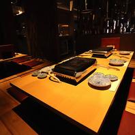 接待・会食に喜ばれる個室!掘りごたつタイプのお席です