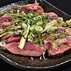 合鴨の炙りステーキ