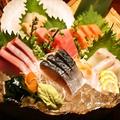 料理メニュー写真【上】刺身盛り(2~3名)