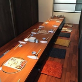 3階の掘りごたつ個室は5つに仕切って10名様~18名様程度のお席としてもご利用頂けます♪