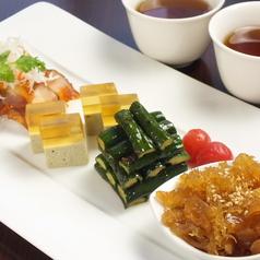 料理メニュー写真本日のシェフおすすめ前菜4種盛り合わせ