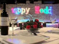 結婚式の二次会では会場全体から見える位置に高砂席をお作りいたします。