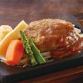 料理メニュー写真豆腐ハンバーグ(約130g)