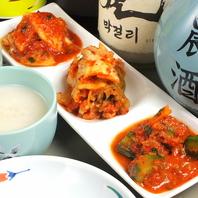 本格的な韓国家庭料理