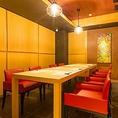 完全個室の厠付特別室『輝(かがやき)』大切なお客様を最高の空間でおもてなしいたします。
