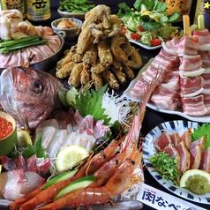 肉酒場 小倉肉なべのコース写真