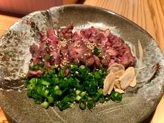 馬ほほ肉タタキ