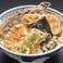 野菜天丼(漬物、小鉢、みそ汁付)