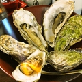 料理メニュー写真あぶり焼牡蠣(1ヶ)