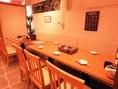 テーブル席は4名席/6名席。