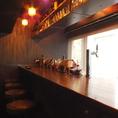 Bar設備も完備!雰囲気ある空間…
