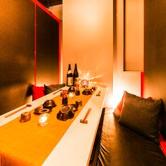 ■掘りごたつ個室■女子会、ご会食、接待でのご利用のお客様にも少人数でご利用頂けるゆったり寛ぎ個室席をご用意しております。記念日等のプライベートなお時間にも最適です。