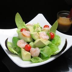 料理メニュー写真うさぎ特製サラダ