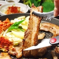 料理メニュー写真サムギョプサルセット