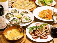有機野菜や新鮮鮮魚を使ったお料理
