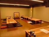 店内奥のお座敷は110名収容可能な個室!大きな宴会にもご利用いただけます。