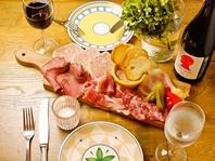ワイン&イタリアン・フレンチメニュー多数
