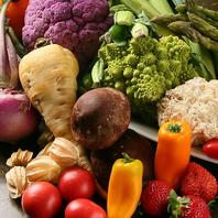 毎朝仕入れる新鮮な野菜を使用!色彩豊かな料理たち☆