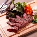 料理メニュー写真黒毛和牛イチボのグリル 100g