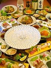 浜料理 侍のコース写真