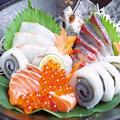 料理メニュー写真海鮮盛合わせ 三種盛り/五種盛り