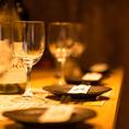 ◆ 広々とした大人数向け個室 ◆団体様でご利用可能な広々とした個室席は、女子会や誕生日、デートはもちろん同窓会や大人数での貸切宴会、パーティーにも最適です。お寛ぎ頂ける店内で特別なお時間をご提供いたします◎