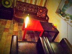 2階ソファ席。