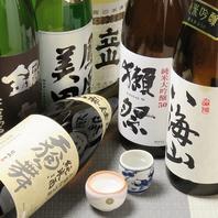 日本酒・焼酎に拘り!魔王・森伊蔵・村尾♪
