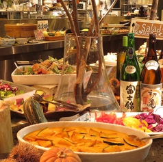自然食ビュッフェ ぶどうの丘 静岡セノバ店の写真