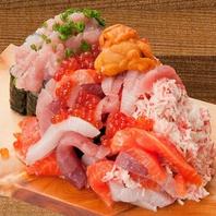 ◆誕生日や記念日には名物『こぼれ寿司』をプレゼント