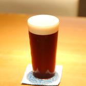 鮨やつまみに合う独自の配合のビールがお勧めです。