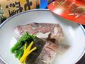 料理メニュー写真鯛の骨蒸し