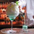 料理メニュー写真グラスホッパーかき氷
