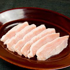 料理メニュー写真トントロ(タレ・塩・辛味噌・味噌)