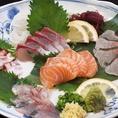 炭蔵では地産地消のこだわりの素材を使用。美味しいお魚を是非お召し上がりください。