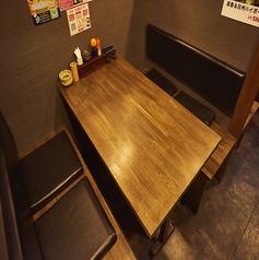 ボックスタイプのお席の別角度のお写真です。