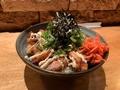 料理メニュー写真とりからネギマヨ丼